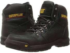 Sepatu Safety Caterpillar Outline ST Black Original  ID93