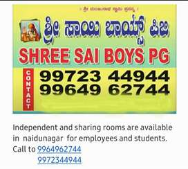 Pg for boys. Students ,workers,doctors, can join.