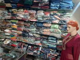 Stock clearance of ladies wear