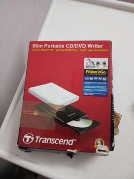 Transcend portable CD DVD writer