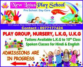 Need Play School Teacher