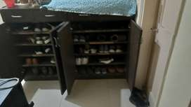 Imported shoe rack in excellent condition