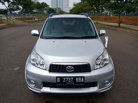 Toyota Rush S manual 2012, tgn pertama Low kilometer