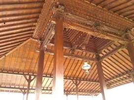 Jual Produk Rumah Adat Jawa Kayu Jati, Pendopo, Joglo, Limasan