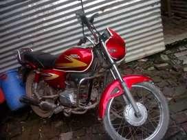 Bike of hero honda