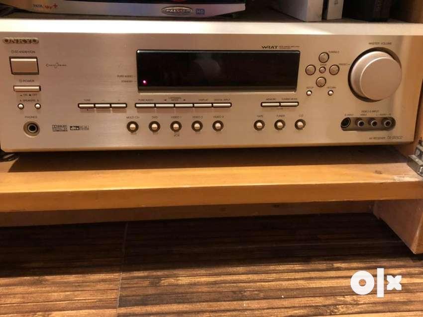 Onkyo Tx Sr502 6.1 Channel Av Reciever / Amplifier 0