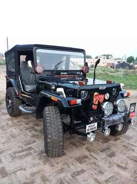 Modified monster willys open Hunter jeeps