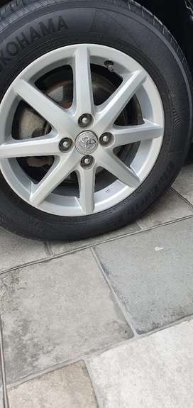 Toyota Aqua genuine alloy rims 15""