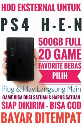 HDD 500GB FULL 20 Game Terlaris PS4 Bebas Pilih Harga Mrh Meriah