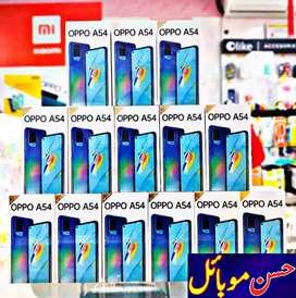 OPPO A54 (4GB/128GB) 18W Fast Charge Punch Hole Camera New Box Pack