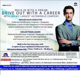 Tata motors in India Hughes vacancy apply interested people