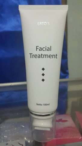 Facial Treatment Ertos Original BPOM - Sabun Pembersih,  Pemutih Wajah