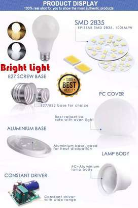 12W LED Bulb Material (SKD) available on wholesale price. Rs.88 only/-