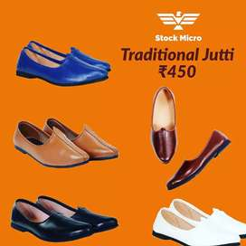 Men's Traditional Jutti ( Free Cash On Delivery )