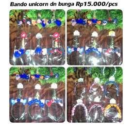 Bando bunga dn unicorn perca