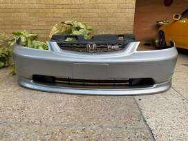 Honda Civic 7th Gen RS Version Front Bumper Forsale