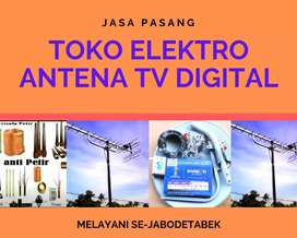 Layanan Jasa Pasang Sinyal Antena Tv Sukajaya