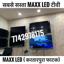 "52"" BRAND NEW LED TV WITH UTUBE FACEBOOK SUPPORT."