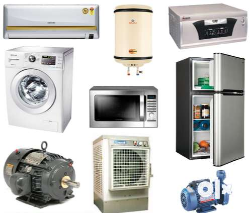 AC, Geyser, microwave oven and all home appliances Service and Repair