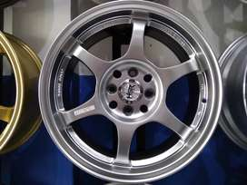 Ready Stock Velg Mobil Agya, Vios, Xenia dll Ring 16 HSR Wheel YUZAWA