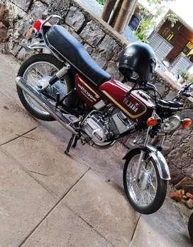 Yahama RX 135... KA 22 Passing