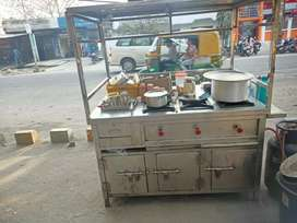 Newly Purchased Steel Food Counter/Stall