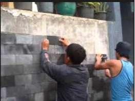 Tukang geranit, keramik, plester, Aci, pasang bata, tukang bangunan