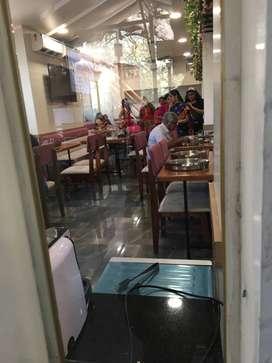 1450Sqft Running Veg Non Veg Restaurant at Tilak Road Nr Girija Hotel