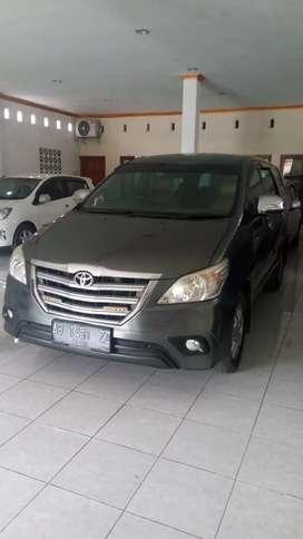 Toyota Kijang Innova G Diesel Manual 2014