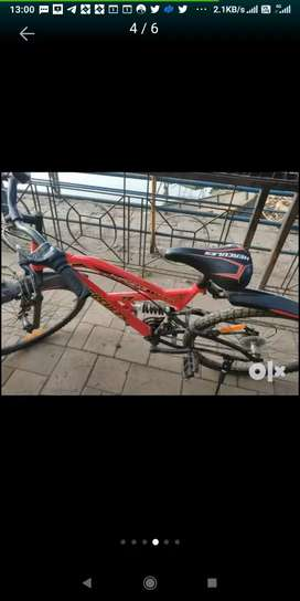 Hercules TZ 110, 18 gear (adult )bicycle for sale 8-9 month old