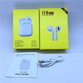 2019 Online Store i18s TWS BT 5.0 Touch Sensor AirPods with Charging C