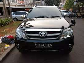 Toyota Fortuner G Lux 2.7 AT 2007 Tdp 20jt angs 4.755.000 x 47 bln