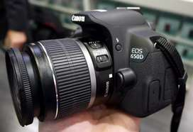 Canon 650D with 18-55mm