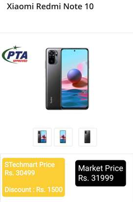 Redmi Note 10 Lite, Pin Packed