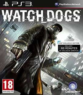 Watch Dog ps3