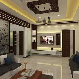 Interior & Exterior work Home & Office complete decoration
