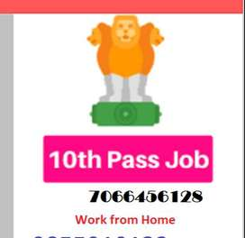 Vacancy FOR BACK OFFICE IN KOCHI/ home based