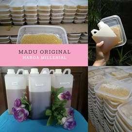 Madu Original dan Sarang Madu Murni