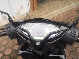 Honda Vario Techno 125 LED CBS ISS Black Grey 2015