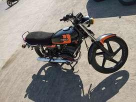 Yamaha rx 100 look like a new bike