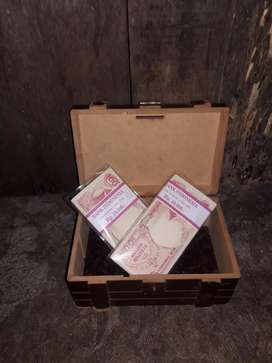 uang kuno 100 pinisi th 1992
