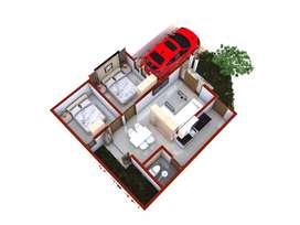 Rumah di Galur Kulon Progo Jalur Bandara YIA Jogja Harga 200 Jutaan