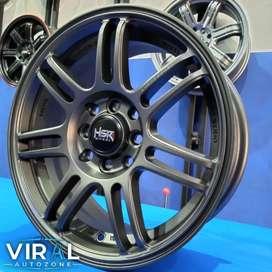Velg Mobil Brio Ring 15 Lubang 4 Pcd 100 Dan 114,3 Bisa Kredit Cicilan