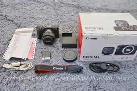 Mirrorless Canon eos M3 Fulset box