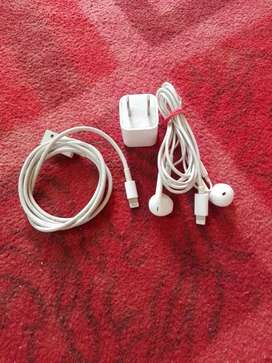 iphone.7. ka orgnial charger orgnial handfree