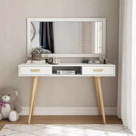 Dressing table and mirror + console table