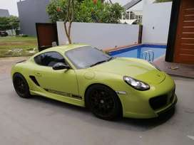 Cayman R 3400cc peridot green 330hp limited editon 1 of 3 in indonesia