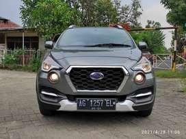 Datsun cross 1.2 Cvt AT tahun 2018 warna abu2 Surabaya