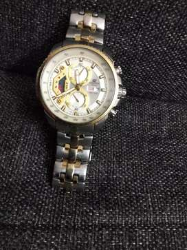 Casio Edifice wrist watch for sale rarely used