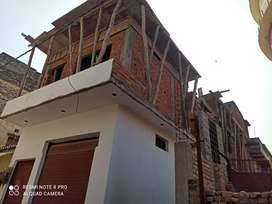 4bhk Newly constructed corner house for sale in shivpur bazaar..
